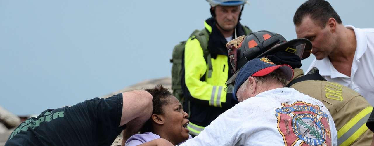 El jueves pasado 10 tornados golpearon el vecino estado de Texas, dejando al menos seis muertos y decenas de heridos. (Fuente: Agencias)