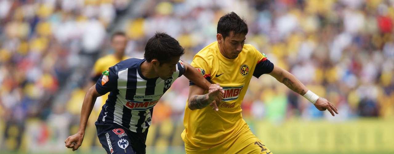 Rubens Sambueza suma un gran torneo y se ha convertido en el 'motor' ofensivo de los de Coapa.
