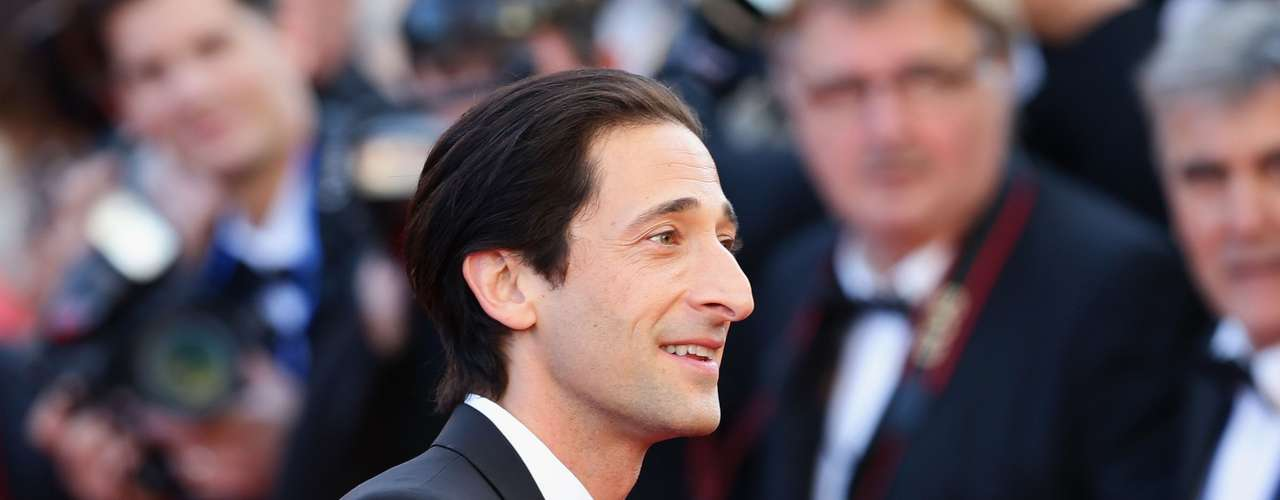 Adrien Brody asistió al estreno de 'Cleopatra' en la 66 ª edición del Festival de Cine de Cannes.