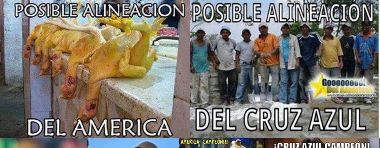 Las redes sociales son dinámicas, no se detienen, mucho menos cuando muy pronto se escenificará la gran Final del futbol mexicano entre América y Cruz Azul. Por ello, te presentamos los memes más divertidos de los días más recientes.
