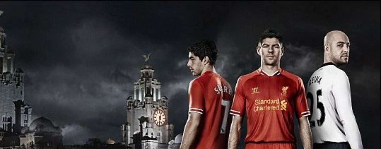 Liverpool is another side aiming for tradition when it decided on this understated red uniform.
