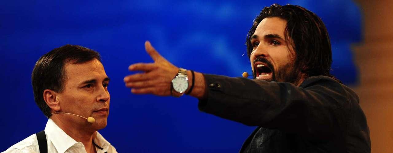 Diego Olivera está encantado con ser el villano de la historia.