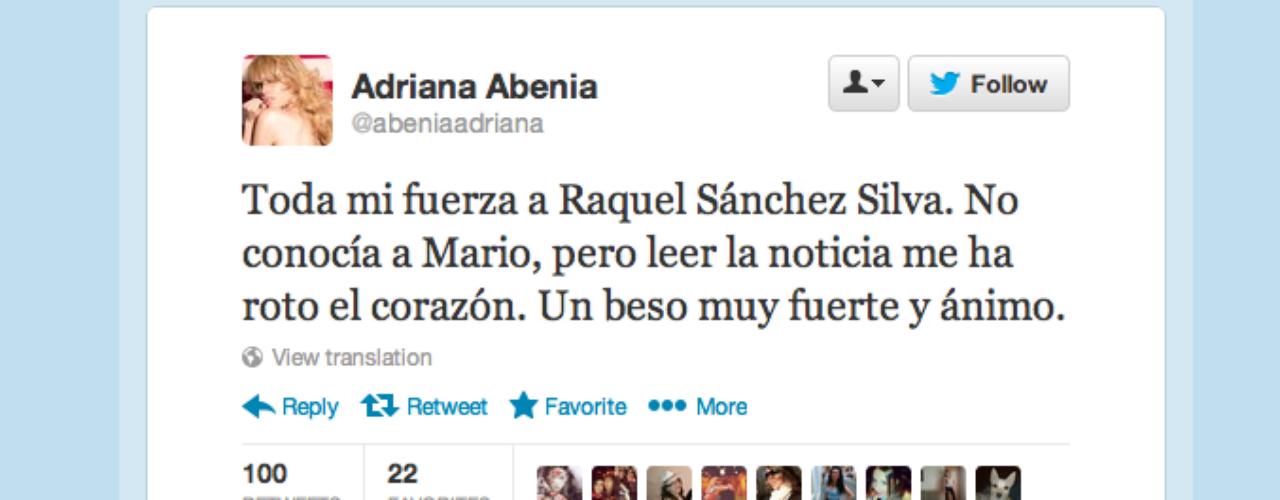 Adriana Abenia: \