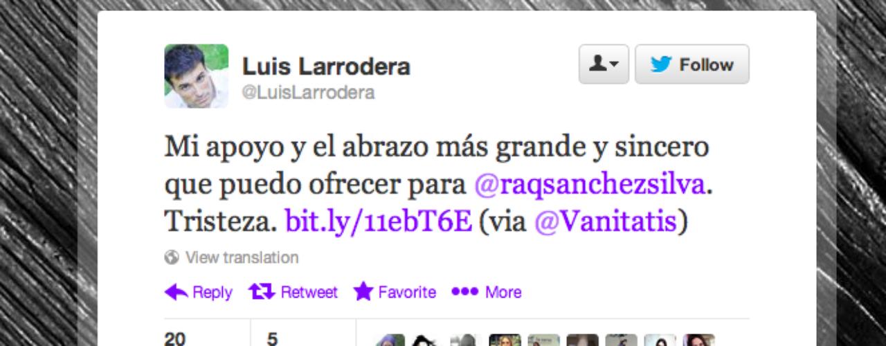 Luis Larrodera: \