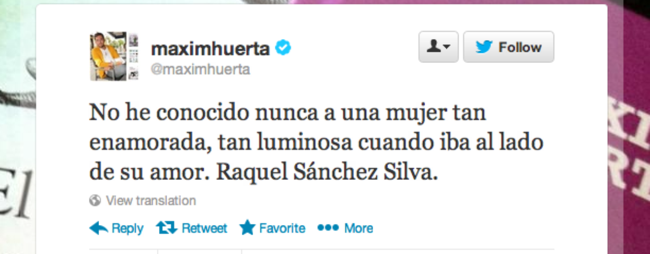 Maxim Huerta: \