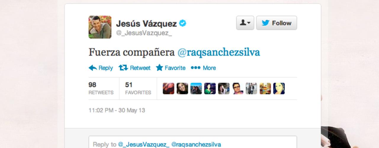 Jesús Vázquez: \