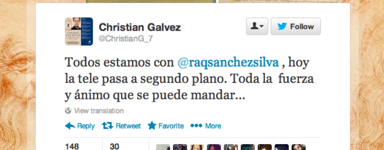 Christian Galvez: \