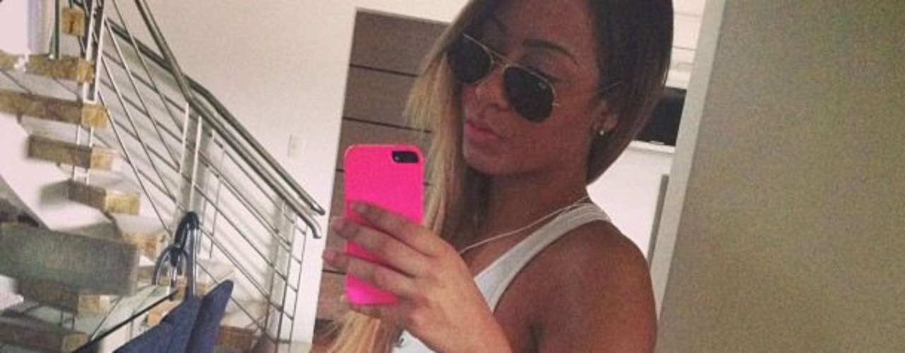 Rafaella Beckran is Neymar's younger sister and is becoming a popular figure in Brazil.