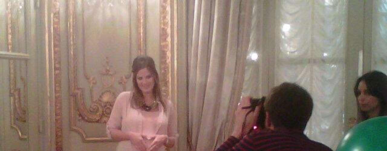 Paula Chaves, orgullosa y feliz a la espera del nacimiento de Olivia.