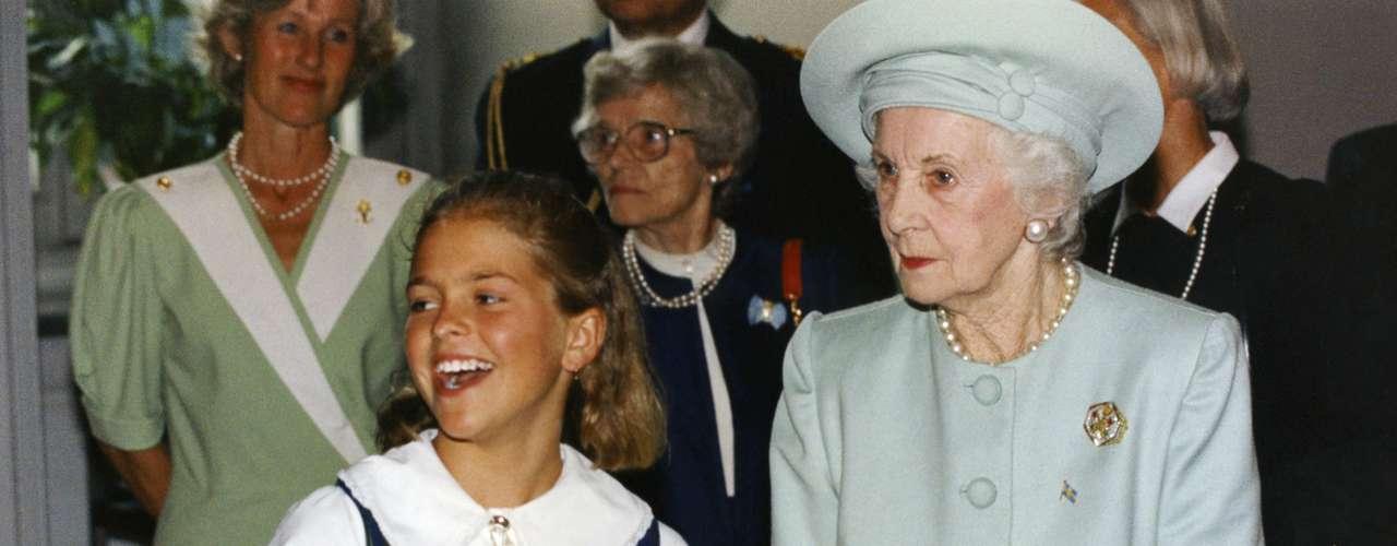 Magdalena es la pequeña de los tres hijos de los reyes de Suecia. Ostenta también el título de Duquesa de Hälsingland y Gästrikland.