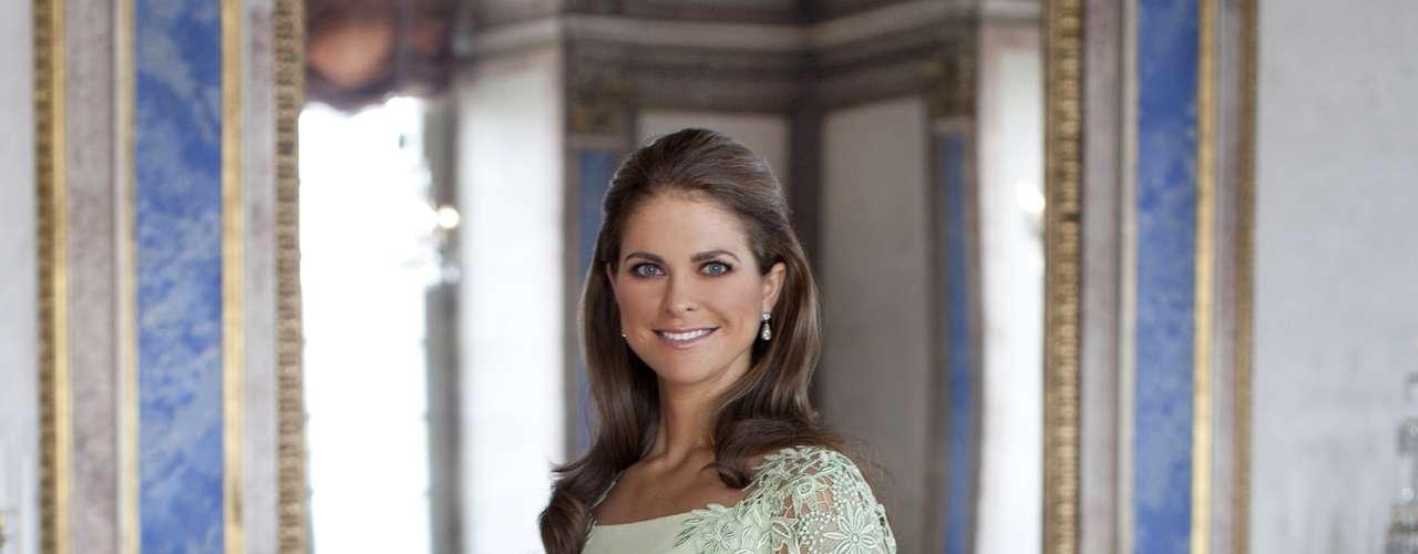 Retrato oficial de la princesa con motivo del anuncio de compromiso de su marido.