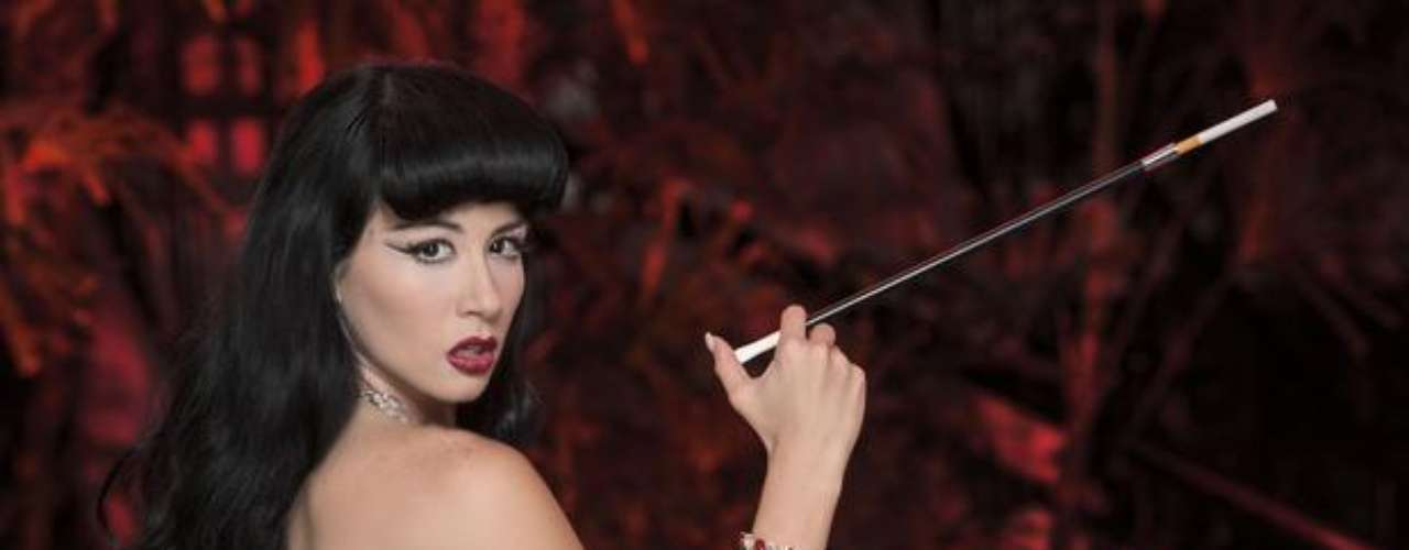 Diosa Canales es igualmente actriz, aunque todavía no ha probado sus dotes en este oficio. ¡Punto para Alicia!