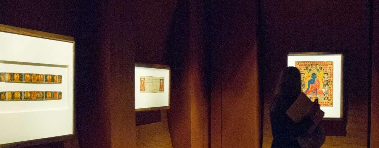 La exposición tuvo una inversión de 9 millones de pesos y una curaduría de ocho años a cargo de Sonya Rhie Quintanilla, especialista en arte asiático.