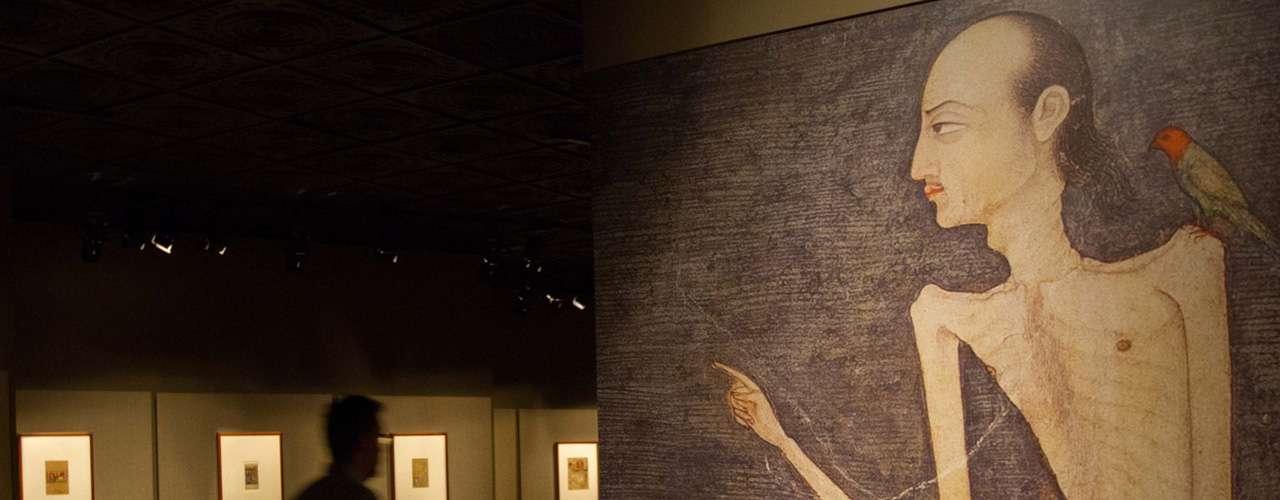 Manuscritos, libros ilustrados de poesía persa, álbumes reunidos por los soberanos de la corte mogola, y hojas sueltas pintadas para los colonos ingleses, son parte de lo que se podrá observar en la muestra.