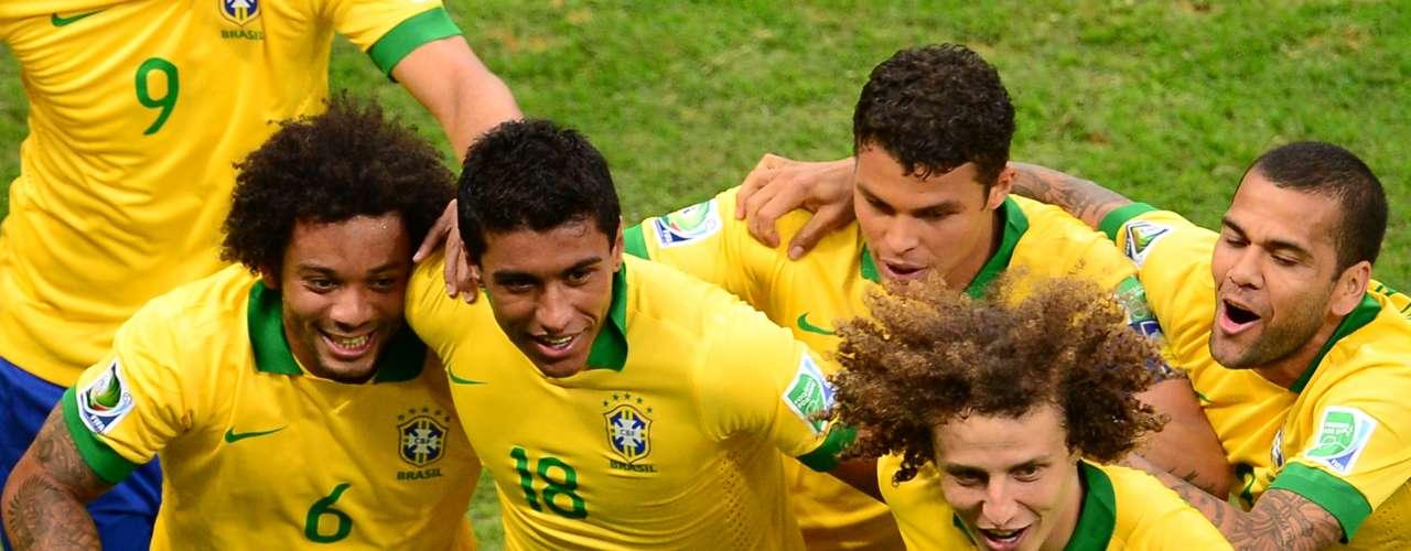 El equipo brasileño arrancó con victoria la competencia, cuya final será celebrada el 30 de junio en el Estadio Maracaná.