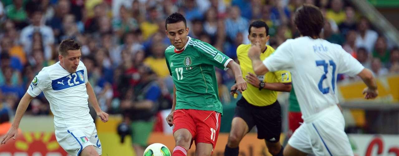 El Tricolor ya no tuvo la fuerza suficiente para remontar nuevamente el marcador.