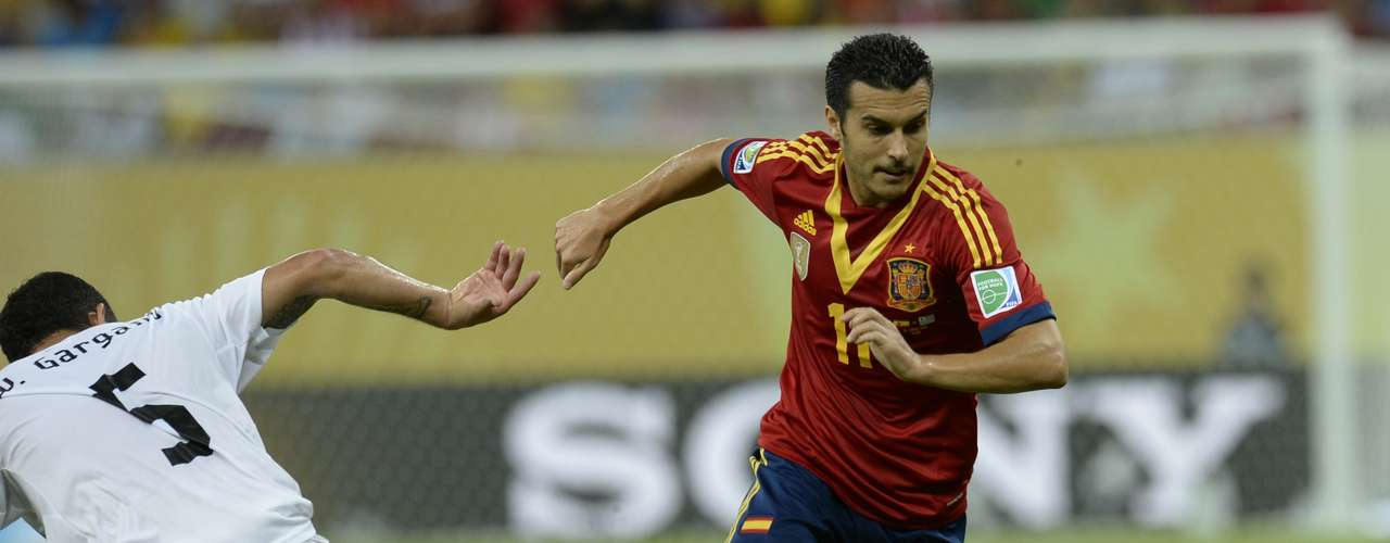 Pedro Rodríguez demostró por qué es uno de los habituales en las convocatorias de Vicente Del Bosque y abrió el camino del triunfo de la selección española.