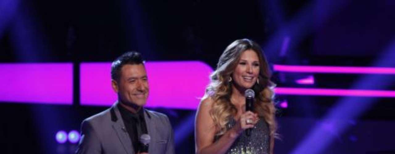 Daisy Fuentes y Jorge Bernal daban la bienvenida a la segunda ronda de batallas de 'La Voz Kids'