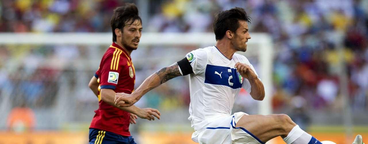 Italia salió a buscar la revancha de la final de la pasada Eurcopa.