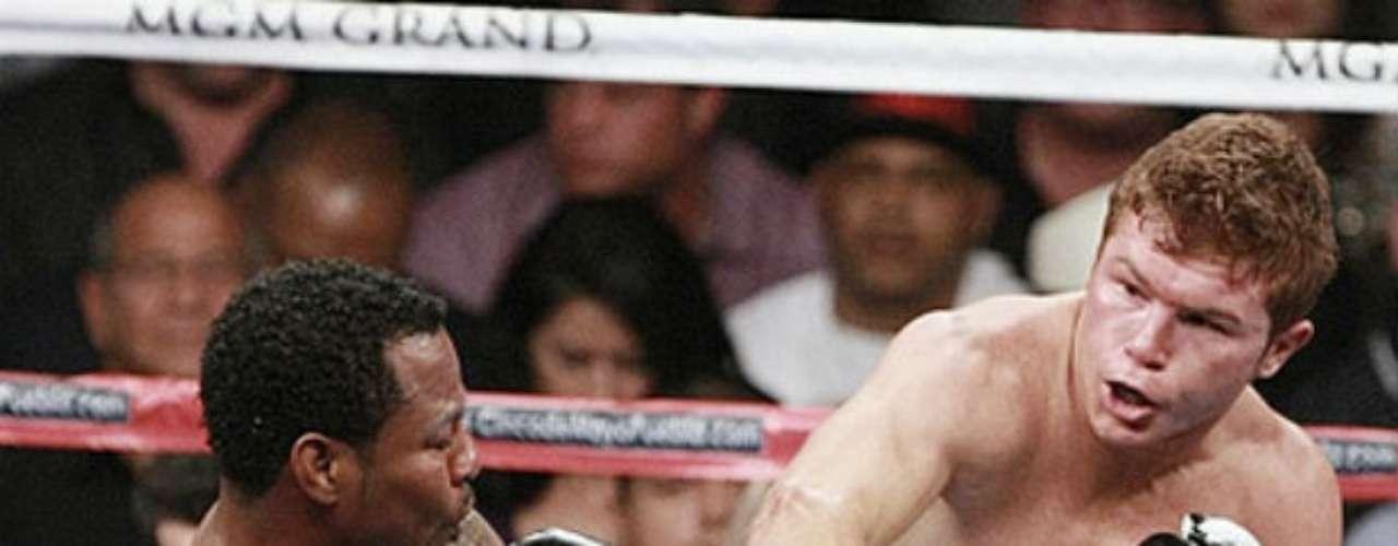 Y por último, Saúl Álvarez ya ha tenido experiencias ante púgiles estadounidenses. En el 2012 defendió su título Superwelter del CMB ante Shane Mosley, al que derrotó por decisión unánime.