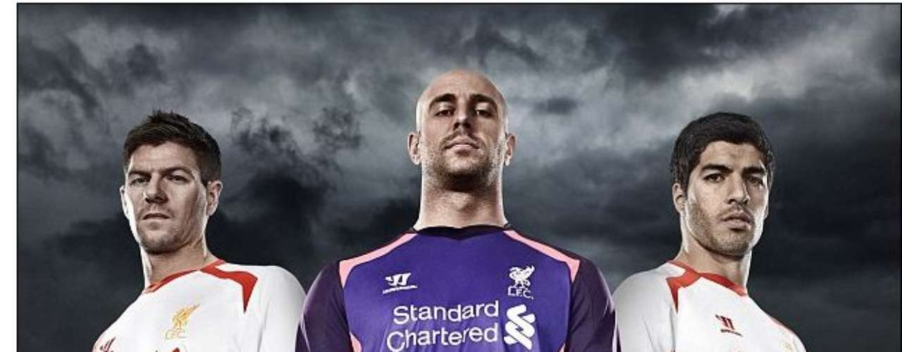 The Liverpool away jerseys may end up competing with Cardiff for the worst outfits of the new season.