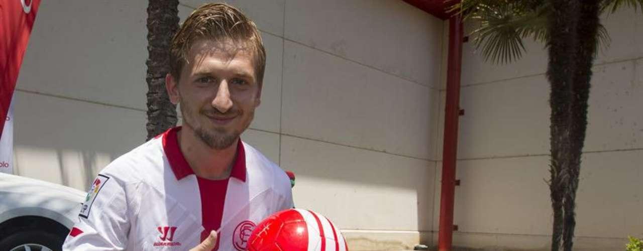 Marko Marin, presentado como jugador del Sevilla