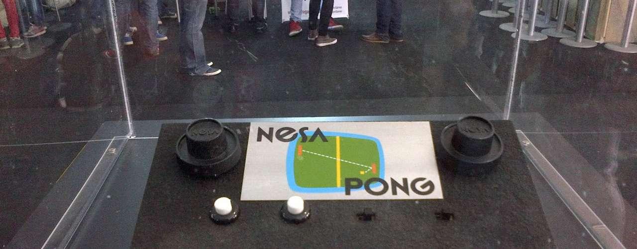 NESA PONG.- Es la primera consola producida y comercializada en México.