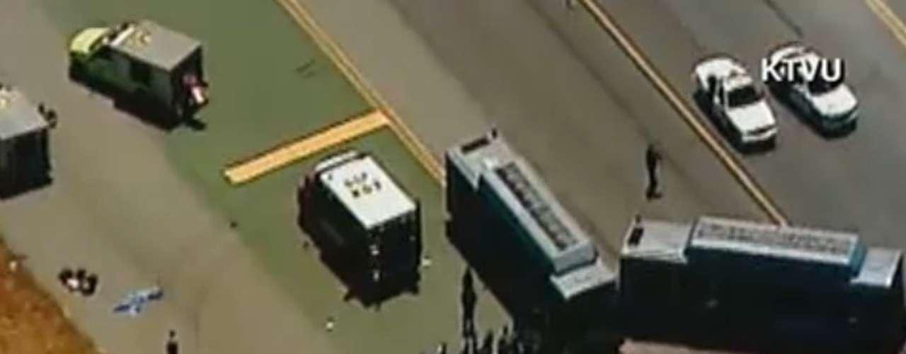 El accidente ocurrió mientras aterrizaba en el Aeropuerto Internacional de San Francisco.