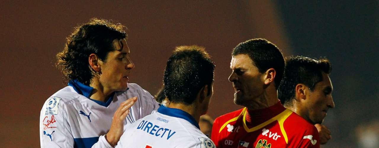 Nuevamente, y tal como en el partido jugado en San Carlos de Apoquindo, los jugadores hispanos y cruzados se trenzaron en una violenta pelea en cancha al finalizar el partido, siendo esta en Santa Laura más violenta.
