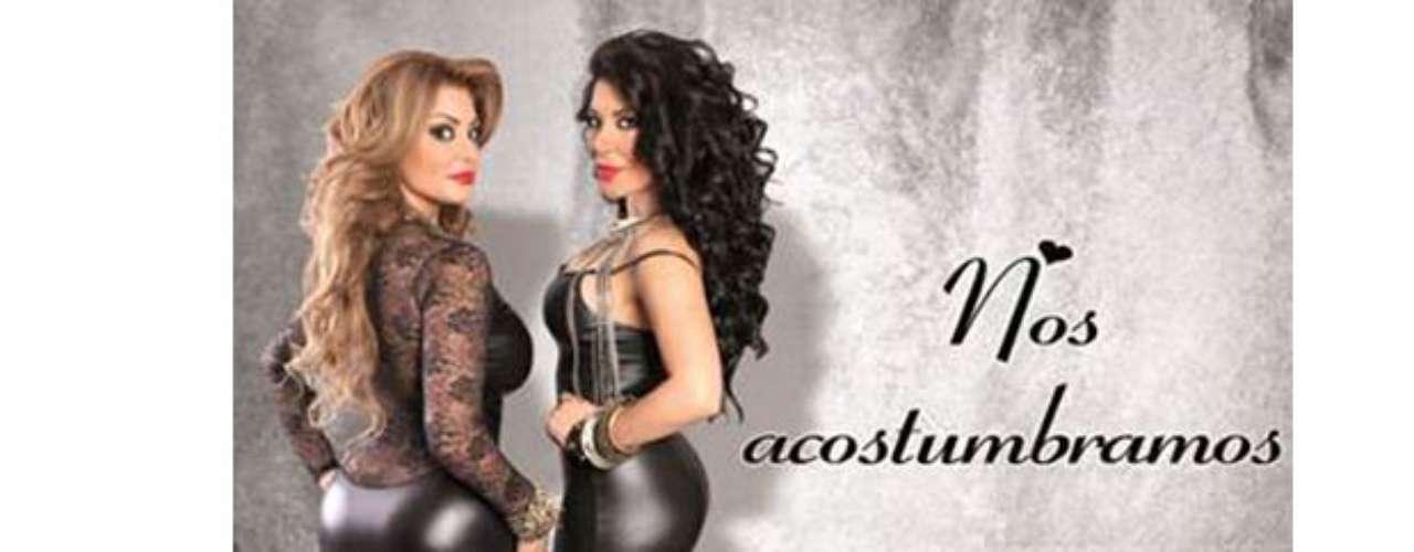 Las hermanas Terrazas regresan bien sexies al panorama musical, eso lo podemos afirmar al ver cómo explotan sus encantos en la portada de \