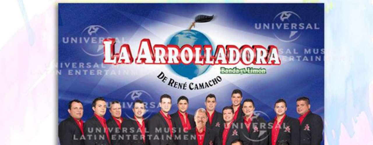 El nuevo disco de La Arrolladora Banda El Limón de René Camacho estará en el mercado a partir del 6 de agosto de 2013.