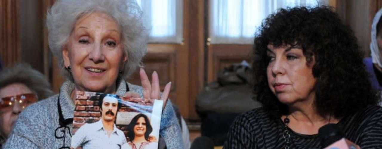 Laura Reinhold Siver, la nieta 105, hija de los detenidos-desaparecidos Susana Leonor Siver y Marcelo Carlos Reinhold, nacida en febrero de 1978, por cesárea, en el Hospital Naval.