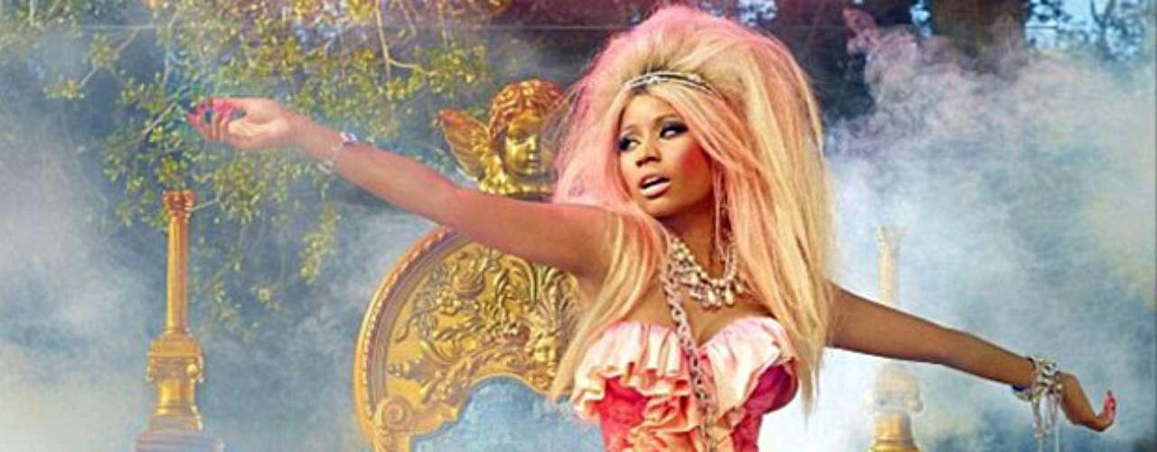 Nicki Minaj se transformó en toda una princesa para hacerle publicidad a su nuevo perfume \