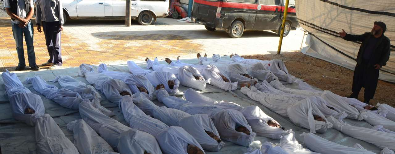 La oposición siria denunció el miércoles 21 de agostomás de 1.300 muertos cerca de Damasco tras un ataque con armas químicas por parte del ejército sirio, leal al presidente Bashar al-Assad.
