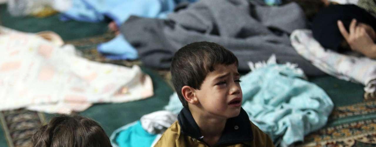 El conflicto en Siria es uno de los conflictos más brutales de los que el mundo ha sido testigo en las últimas décadas y los niños han formado gran parte de los muertos.