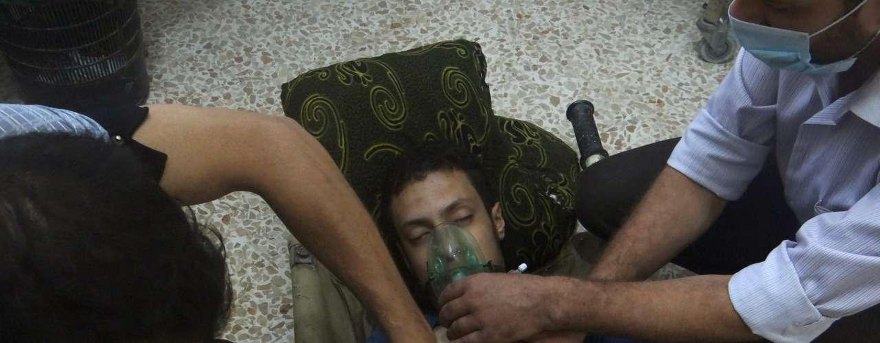 El ataque a Damasco es uno de los más violentos del conflicto y ha provocado una oleada de condenas internacionales.