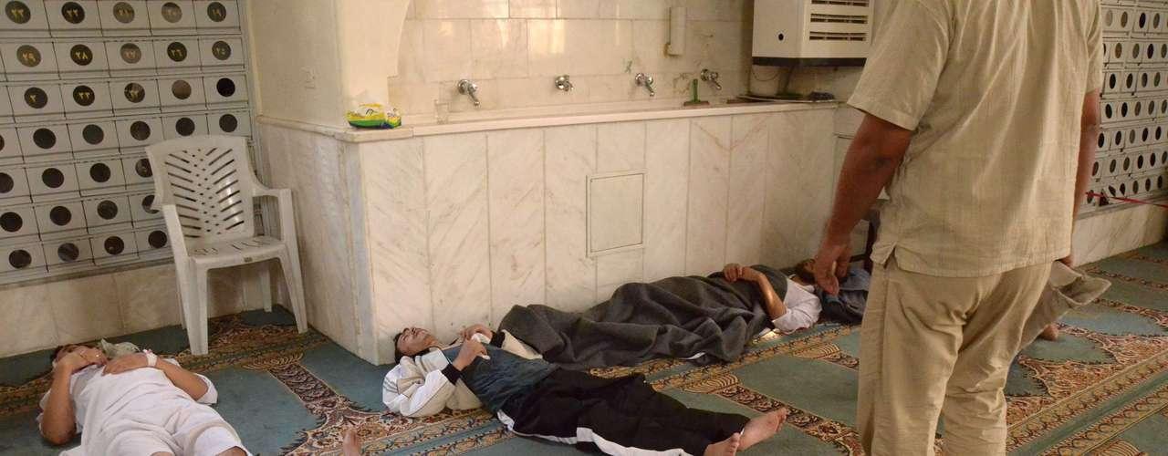 Sobre las pruebas de EE.UU. A pesar de que el gobierno norteamericano asegura que el régimen sirio usó armas químicas, y que posee supuestas evidencias, investigadores de la ONU deberán confirmar esas afirmaciones dentro de los próximos días.