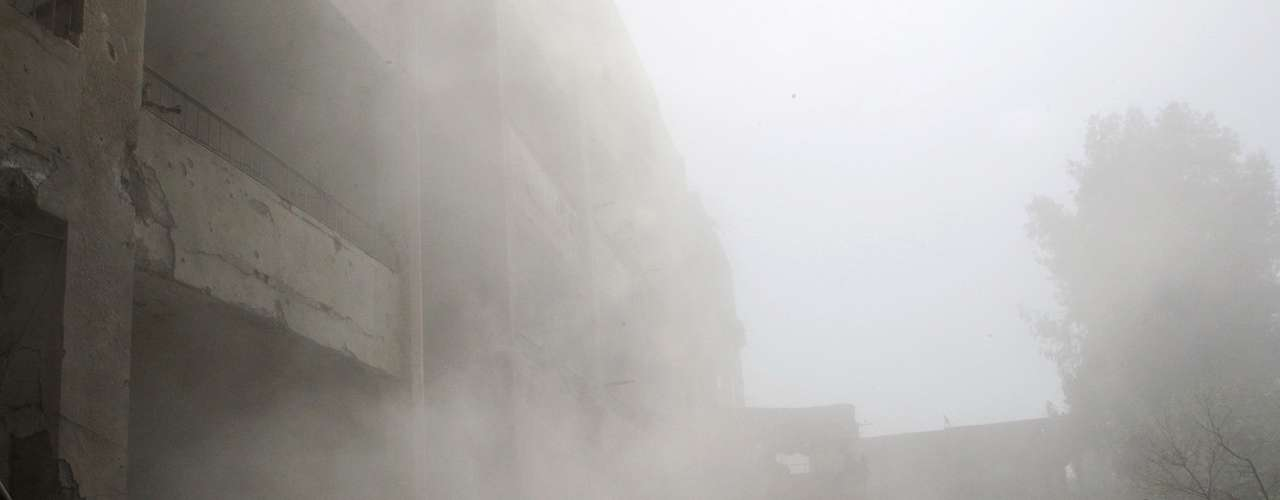 En la capital siria, el viceministro de Relaciones Exteriores, Faisal Moqdad, aseguró que \