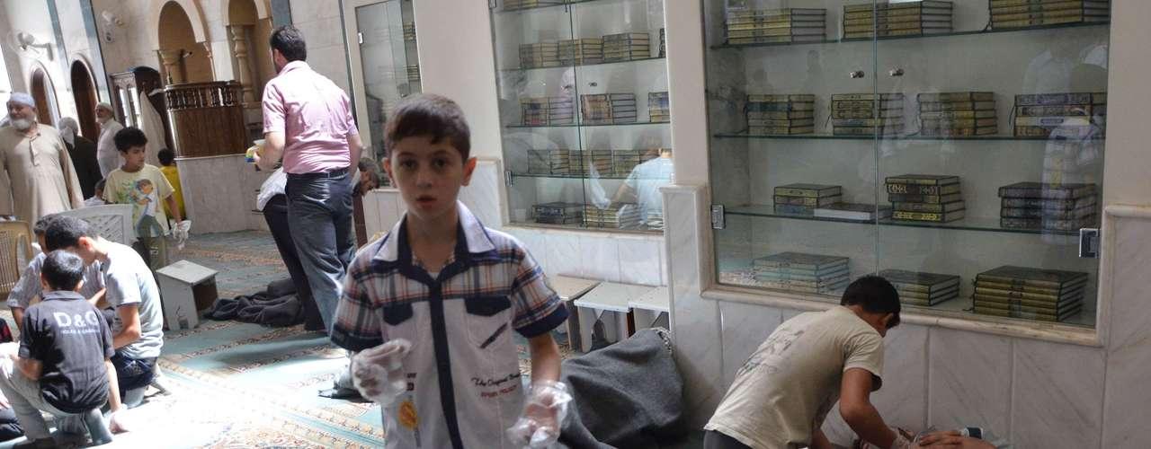 Rusia asegura tener pruebas de que el ataque con armas químicas en las afueras de Damasco fue perpetrado por la oposición al régimen del presidente sirio Bachar al Asad, aseguró por su parte el embajador sirio en este país, Riad Haddad, en Moscú.