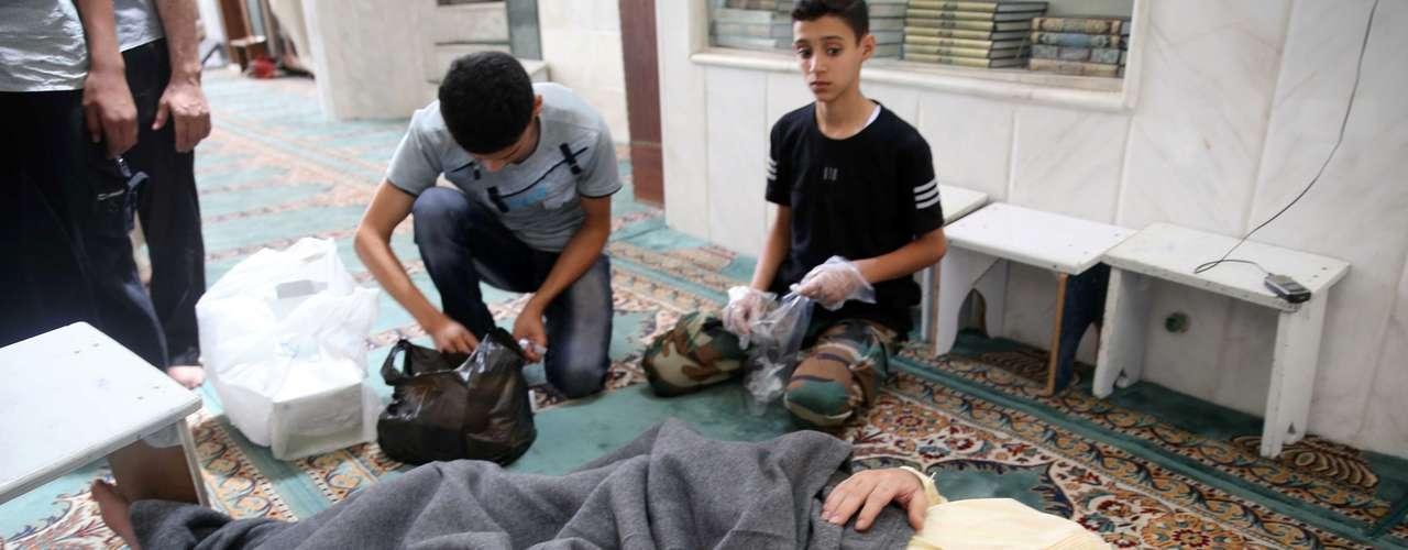 El Gobierno estadounidense divulgó además un informe de inteligencia que establece que 1.429 personas, entre ellas al menos 426 niños, murieron en el ataque con armas químicas en la periferia de Damasco y atribuye esa acción al régimen sirio.