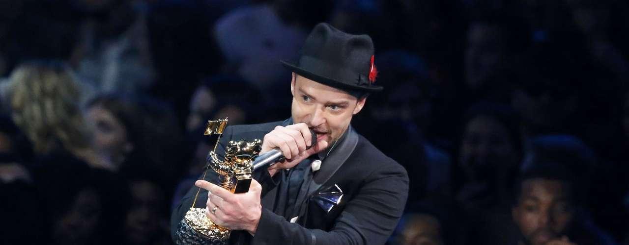 Justin además fue galardonado con el premio Vanguardia Video Michael Jackson.