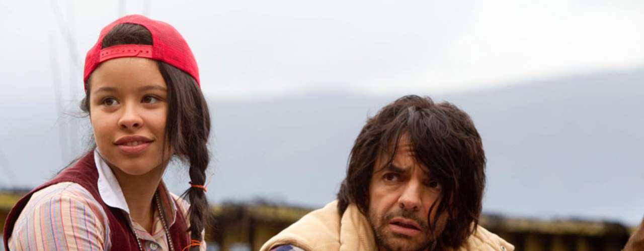 En Girl In Progress, Derbez interpreta el papel del sufridopretendiente del personaje de Eva Mendes, una madre que no ve completamente lo bueno que hay en él.