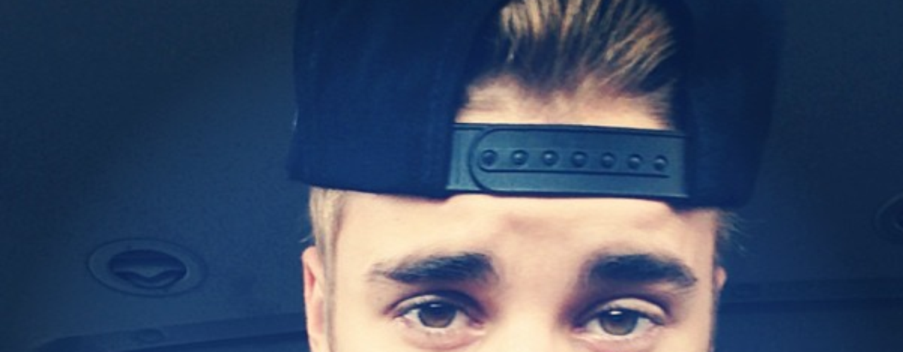 3 de Septiembre - Justin Bieber se tomó esta foto donde dice que está cansado pero que no se da por vencido. ¡Pobrecito!