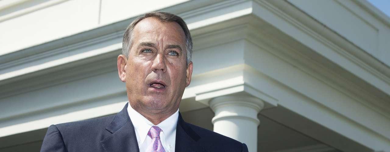 Este martes el presidente republicano de la Cámara de Representantes, John Boehner, dio su respaldo a la propuesta de resolución del mandatario Obama para lanzar una operación militar contra Siria.