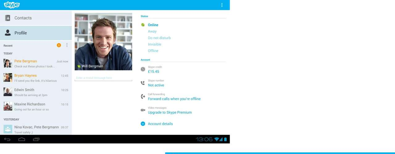 6 - Skype - free IM & video calls - desarrollado por Skype