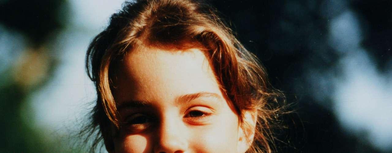 Quién le iba a decira esta niña de inconfundibles hoyuelos que se convertiría en la Duquesa de Cambridge.