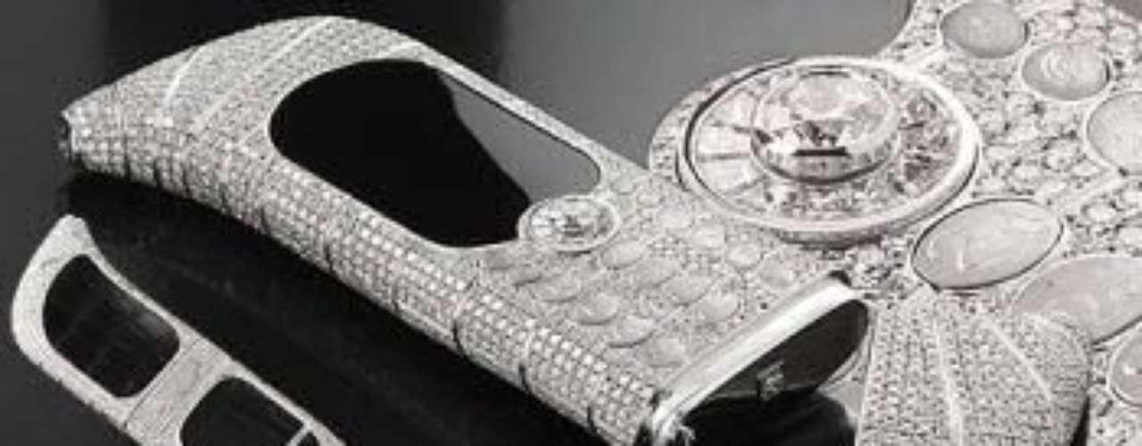 Goldvish Le Million.Es uno de los móviles más caros del planeta, con un precio que ronda los 800.000 euros. Se hicieron 100 móviles de este tipo y, por supuesto, todos por encargo. El terminal lleva 120 diamantes incrustados.