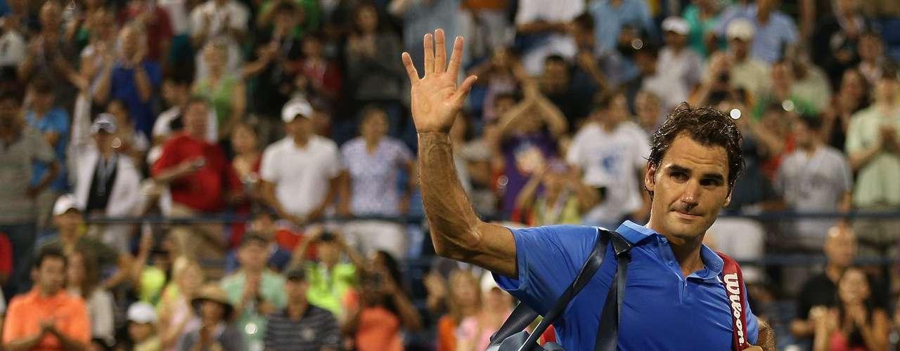 El ocaso de un ídoloRoger Federer.
