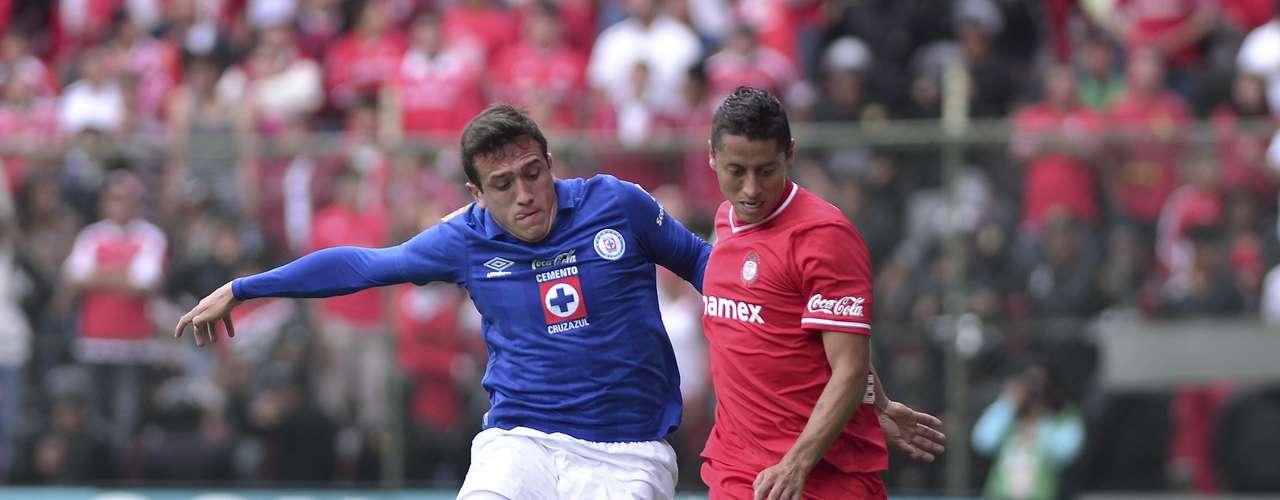 Toluca recibió al Cruz Azul en el Estadio Nemesio Diez, en duelo correspondiente a la Jornada 9 del Apertura 2013.