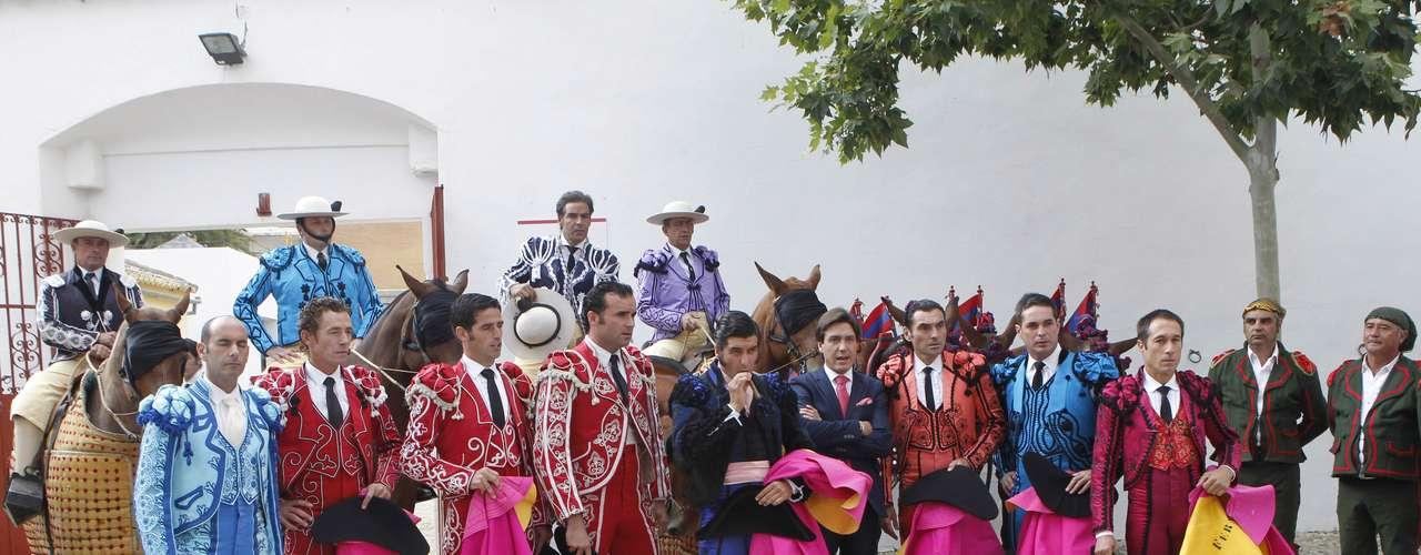 Francisco Rivera Ordóñez era el encargado de organizar el evento, para el que no quedaron localidades libres en taquilla.